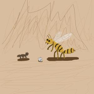antz z-4195 drunk wasp