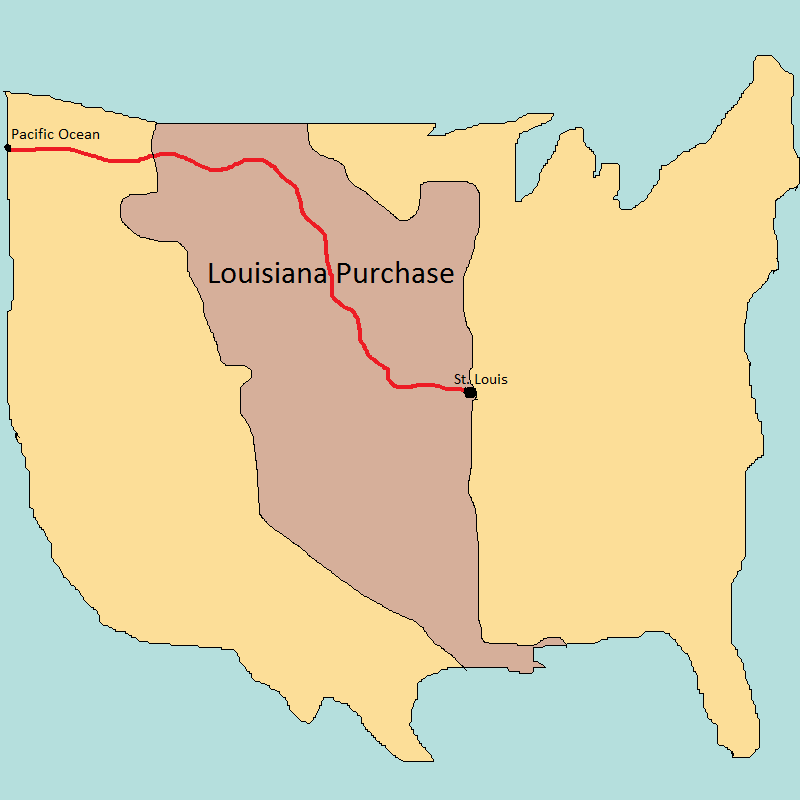 almost heros leslie edwards william hunt louisiana purchase westward expansion thomas jefferson
