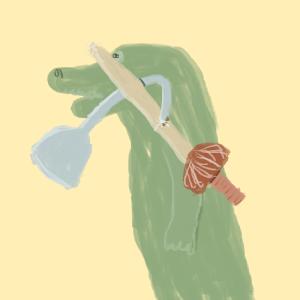 hook sword fight fly crow crocodile