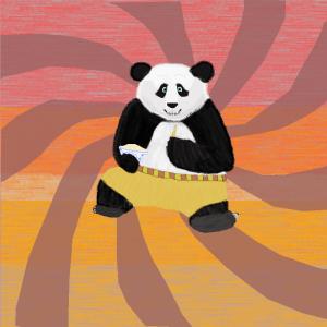 kung fu panda noodles chopsticks