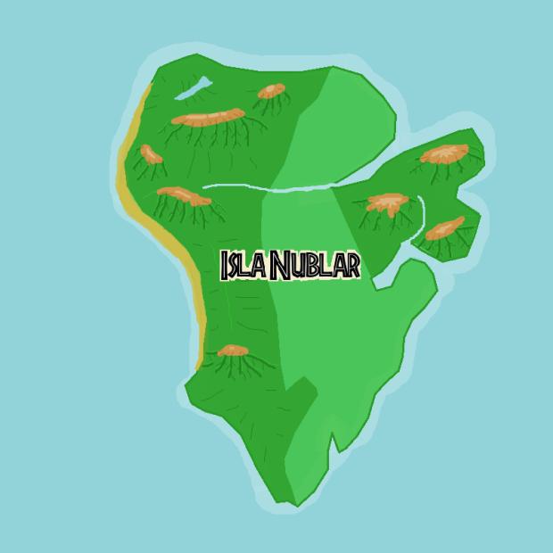 jurassic park isla nublar island