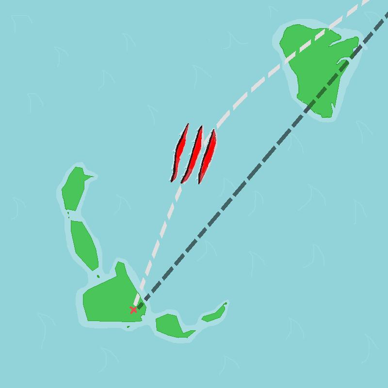 jurassic park 3 las cinco muertes isla sorna isla nublar islands flight path