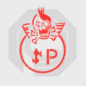 robocop 3 splatterpunks splatter punks logo graffiti ocp omni consumer products jolly roger skull crossbones